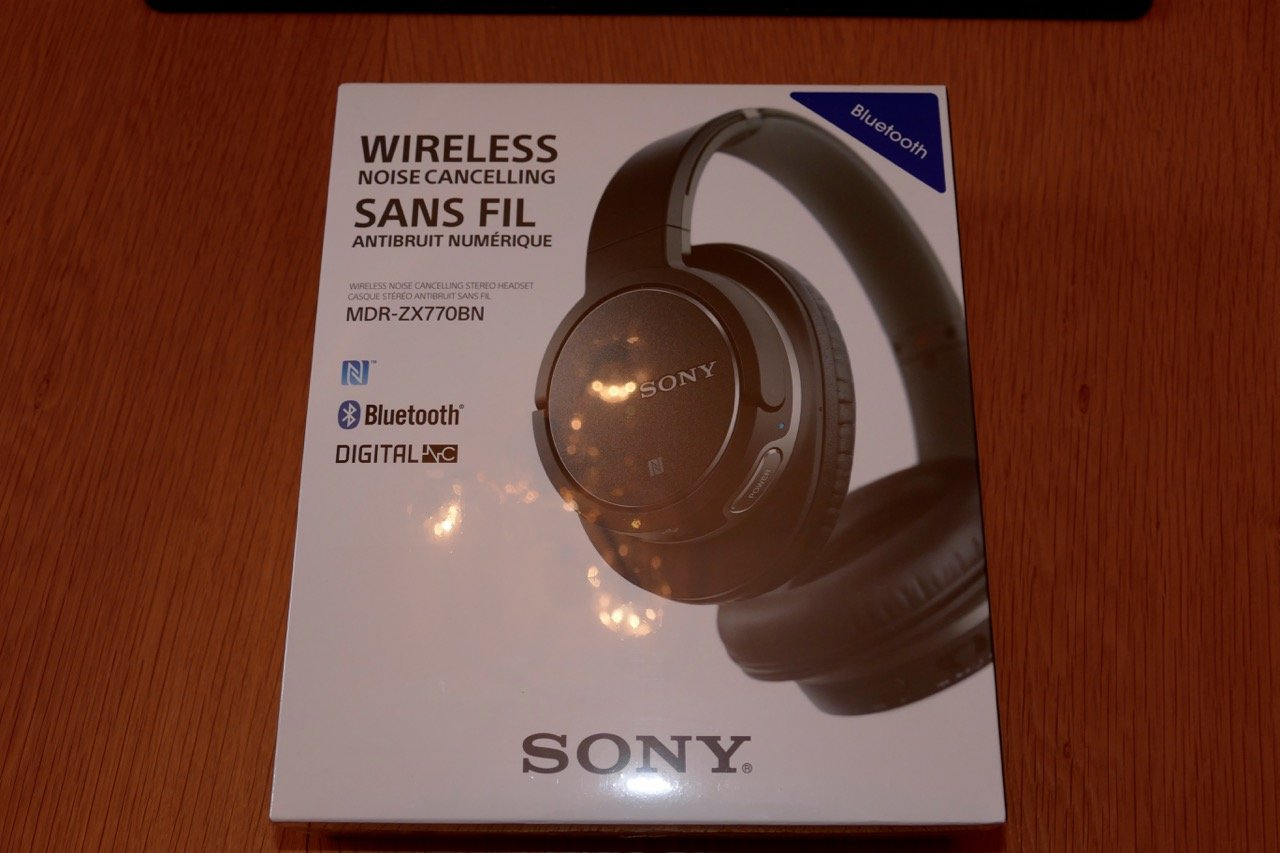 Sony Mdr Zx770bn Box Front Reviews By Tristan